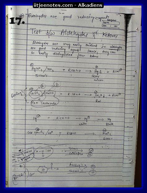 Alkadiens Notes chemistry5