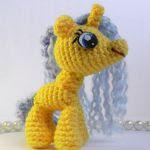 patron gratis mi pequeño pony amigurumi