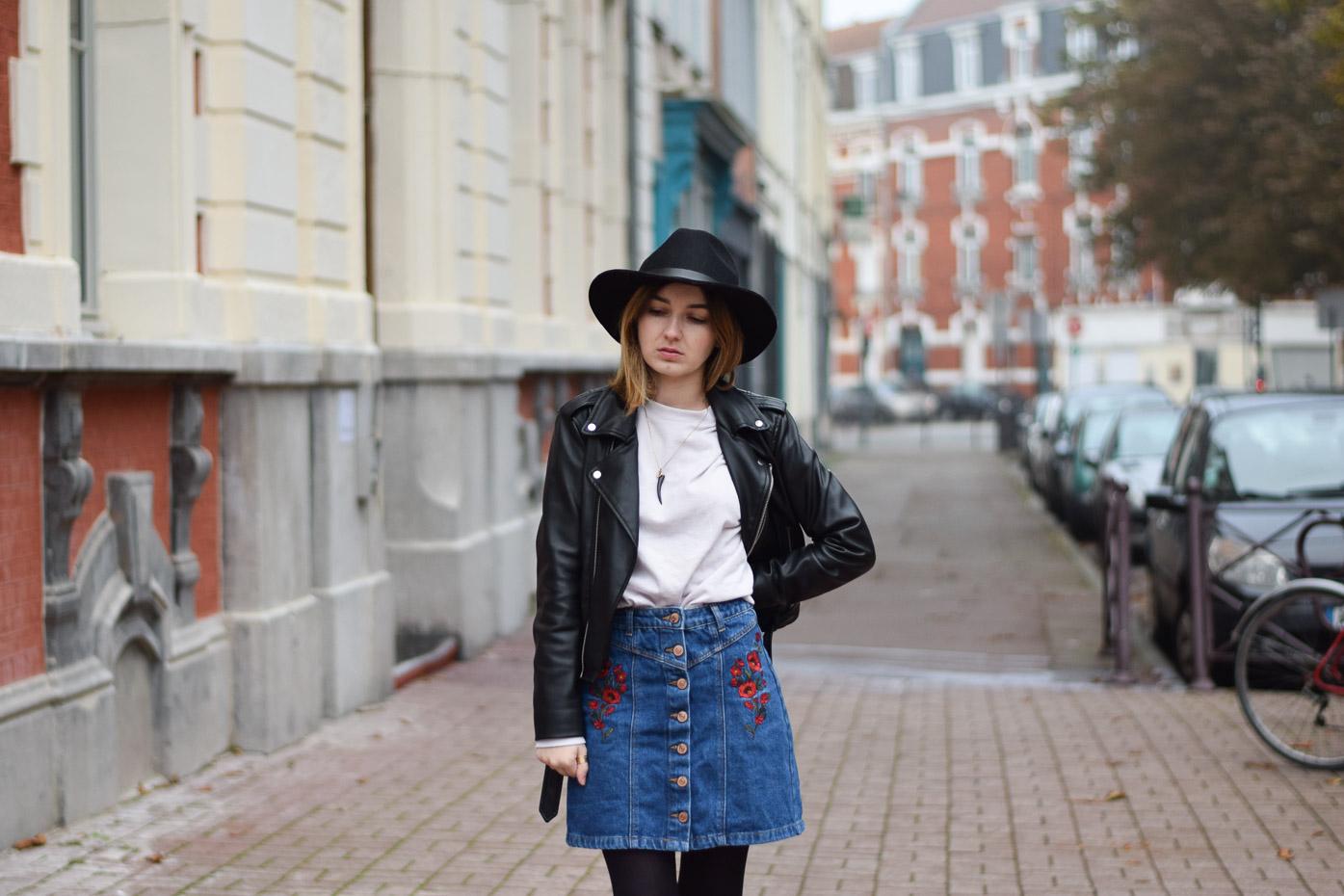 perfecto zara panama h&m outfit look fall