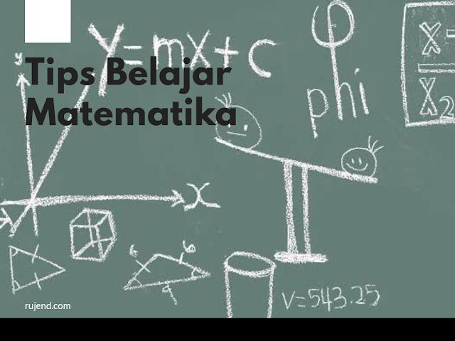 Tips belajar rumus matematika