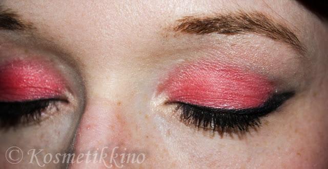 MAC Sushi Flower Review Swatch Tragebilder Eyeshadow Lidschatten