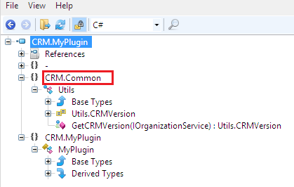 Visual Studio 2015 Shared Projects and CRM Plugins Development