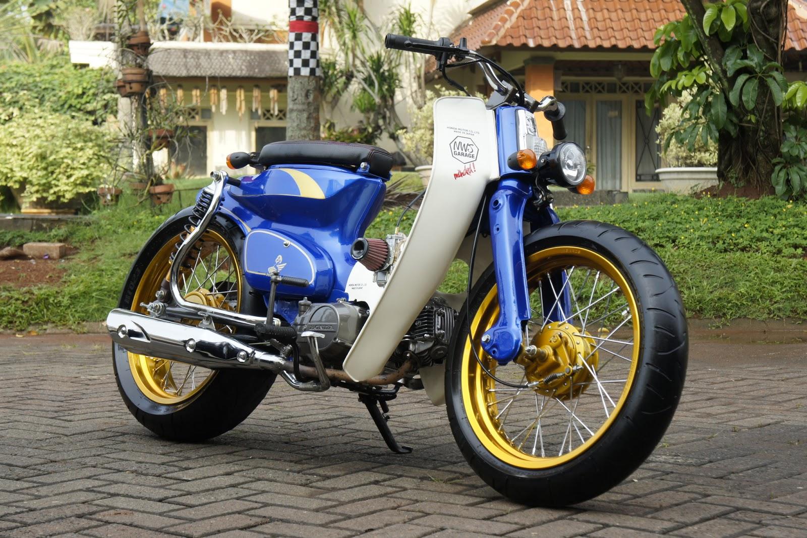 Honda Riding Gear >> TheCafeRacerCult: Street Cub