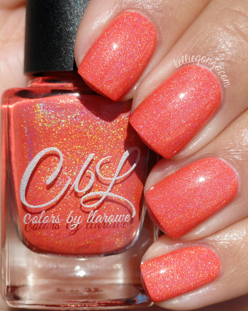 Colors By Llarowe Orange Sherbet
