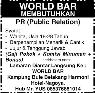 Lowongan Kerja PT. World Bar