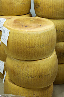 Parma is famous for parmesan  (parmigiano) cheese