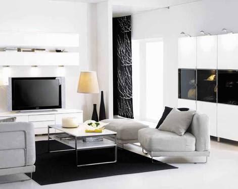 Moderna sala pequeña