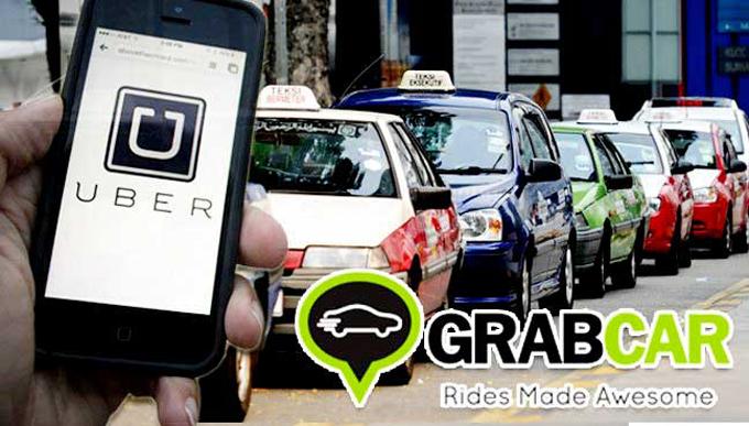 8 Sebab Uber dan Grabcar Menjadi Pilihan Daripada Teksi