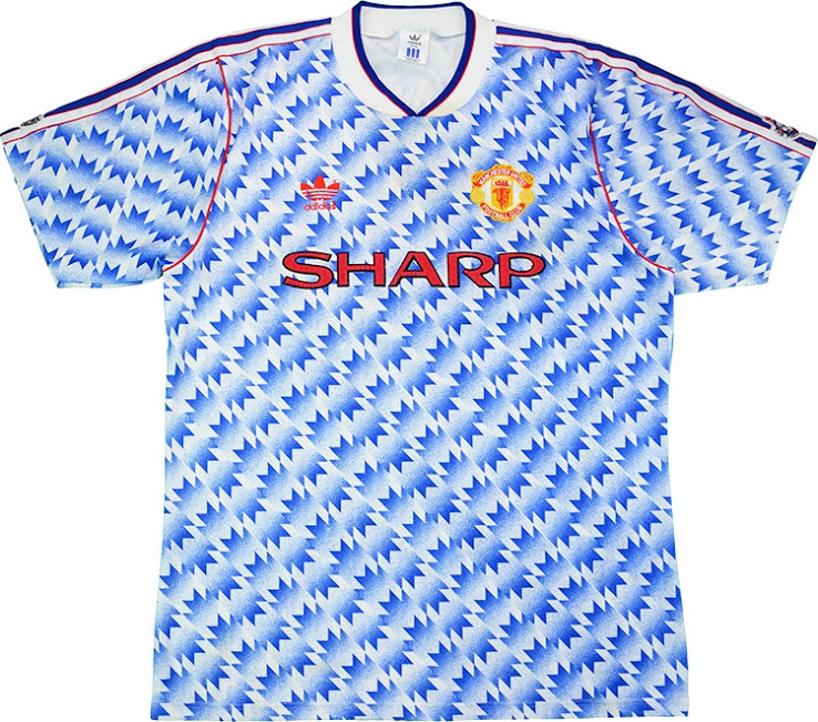 Manchester United 1991-1992 Away Kit 88c4b202c