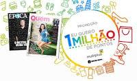 Promoção Revista Quem Época Um Milhão Pontos Multiplus