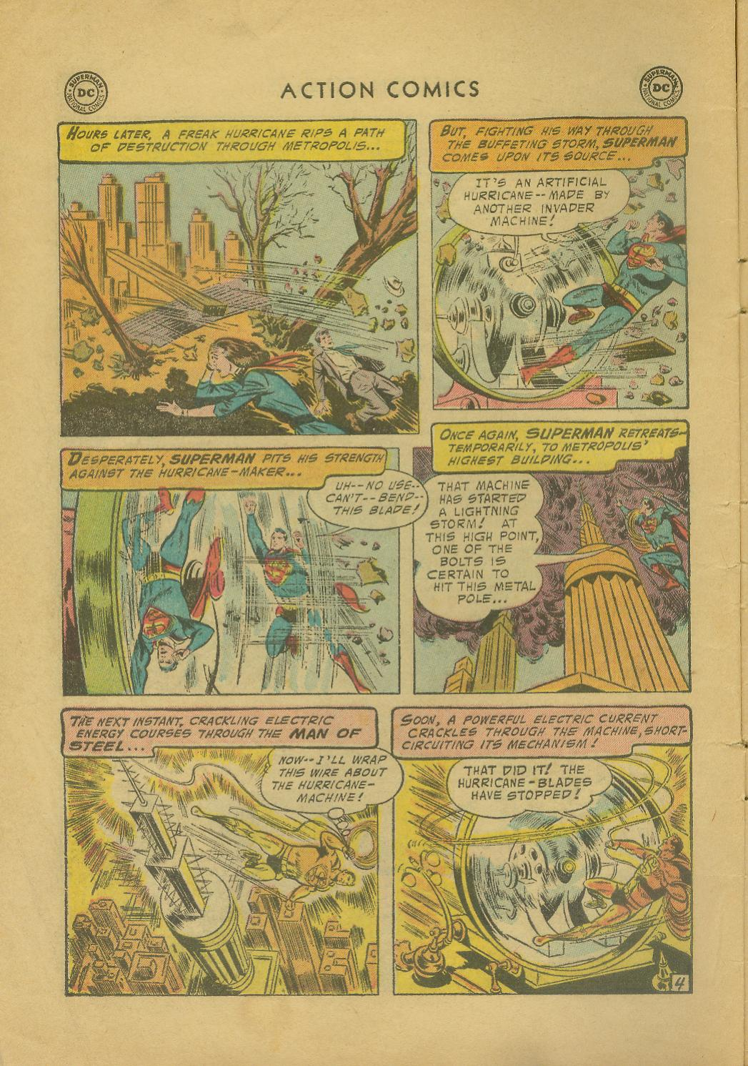 Read online Action Comics (1938) comic -  Issue #216 - 7