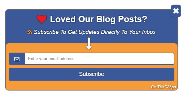 "How To Add Popup ""Feedburner Email Subscription Form"" to Blogger"