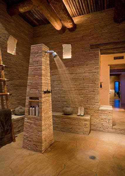 kamar mandi nature minimalis