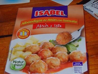 Albóndigas de atún con tomate, Isabel