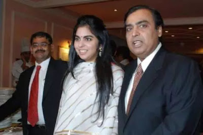A few days ago, the Ambani familydhirubhai