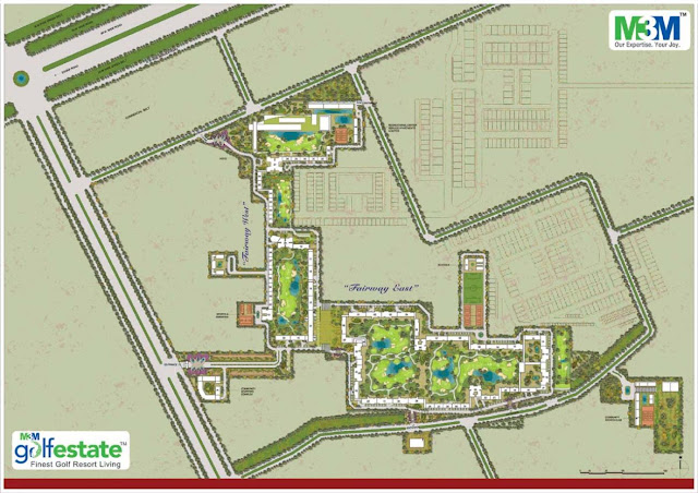 Site Plan - M3M Polo Suites