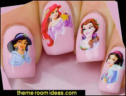 Nail Wraps Nail Art Nail Decals Transfers Disney Princess