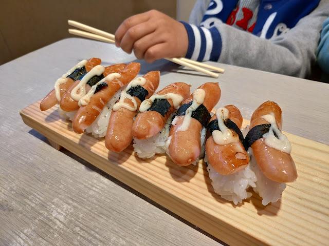 ウインナー寿司|大阪府堺市初芝駅近くの「一作鮨」へ