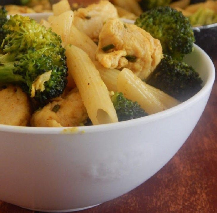 Healthy Broccoli and Chicken Penne Pasta Recipe