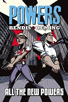 Book cover of the graphic novel Powers by Brian Michael Bendis