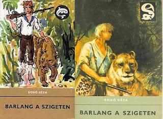 Bodó Géza Barlang a szigeten ifjúsági kalandregény
