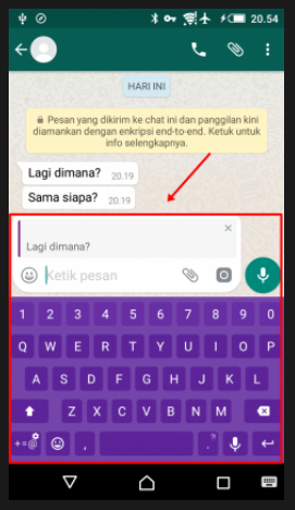 Cara Cepat Balas Chat Whatsapp Tertentu