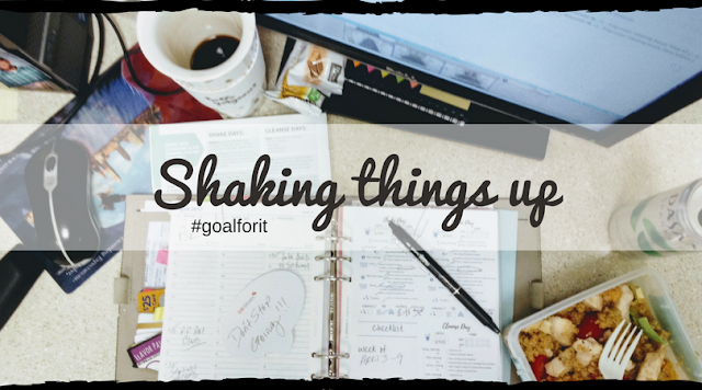 Shaking Things Up with My Weight Loss Plan + Free Isagenix Tracker