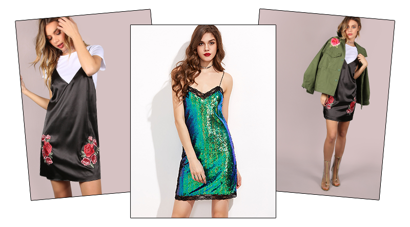 6 Maneiras de Usar Slip Dress ou Cami Dress