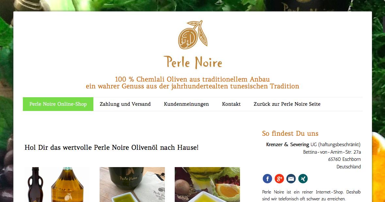 oliven l gesundheit und ern hrung neuer online shop f r perle noire dank spam attacken. Black Bedroom Furniture Sets. Home Design Ideas