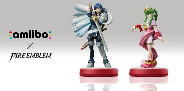 Chrom y Tiki también tendrán sus versiones en forma de Amiibo