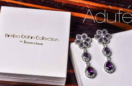 Photos: Bimbo Oshin Launches Oriki Yoruba Names Inspired Jewellery
