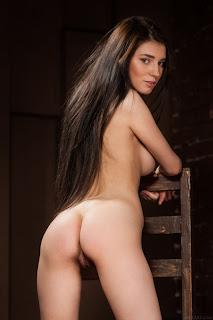 顽皮的女孩 - Sexy Naked Girl Alice Noir - 5
