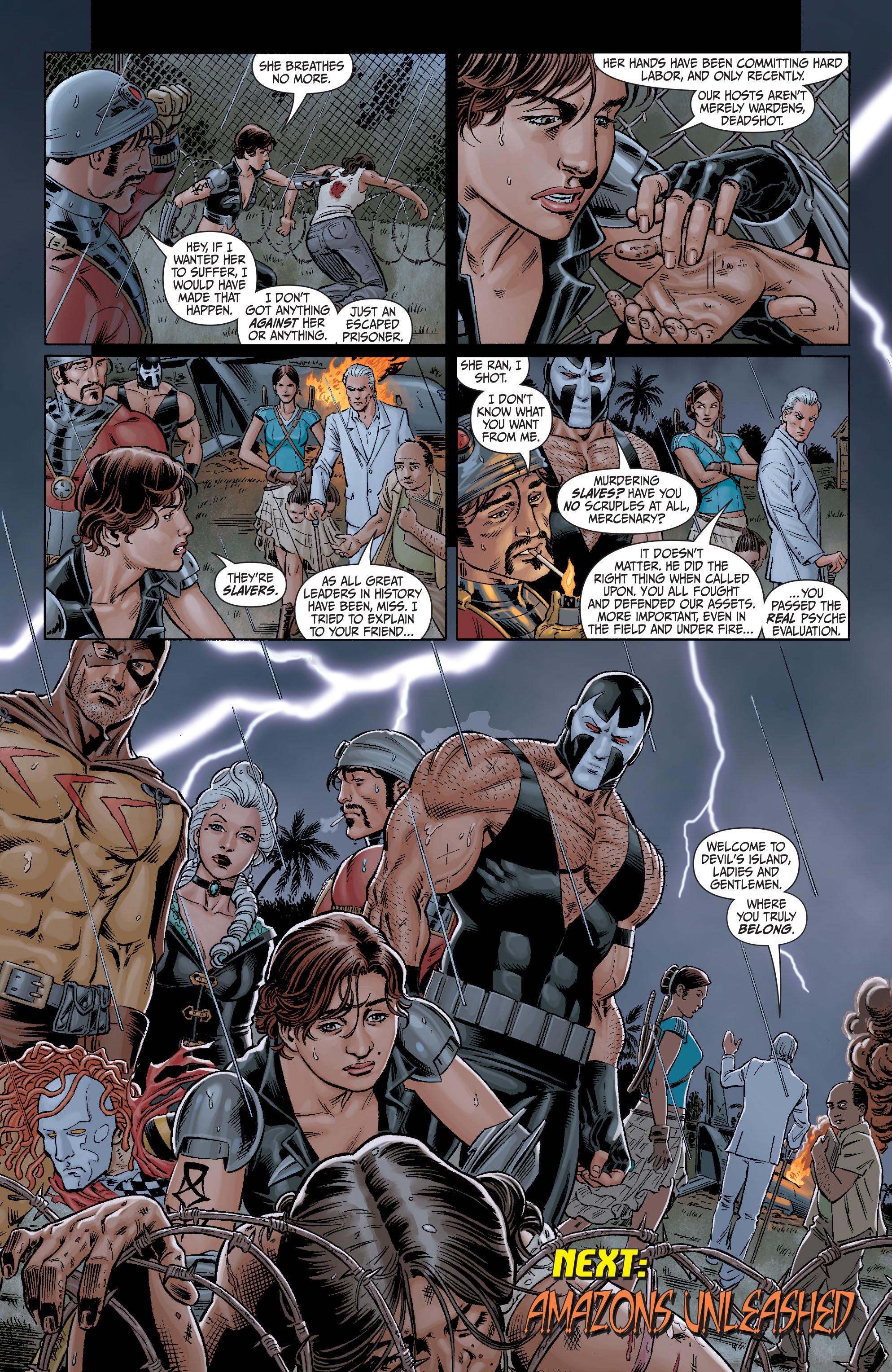 Read online Secret Six (2008) comic -  Issue #10 - 23