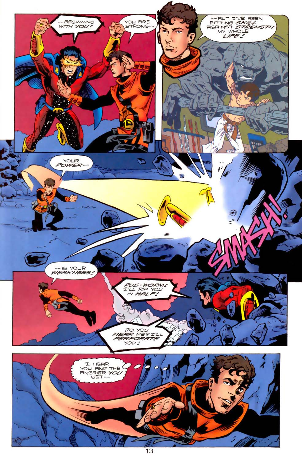 Legion of Super-Heroes (1989) 111 Page 13