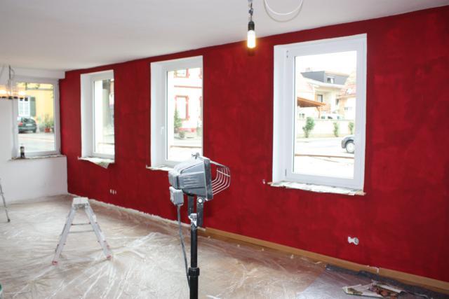 wohnzimmer rot streichen inspiration. Black Bedroom Furniture Sets. Home Design Ideas