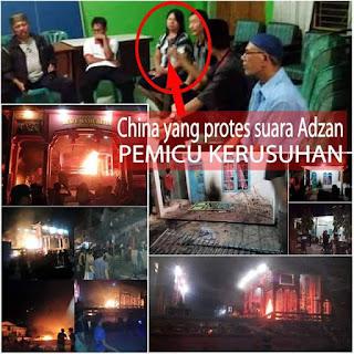 Amuk Massa di Tanjung Balai Bukan Hanya Karena Masalah Adzan