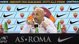 Roma: la conferenza di Spalletti pre Atalanta video