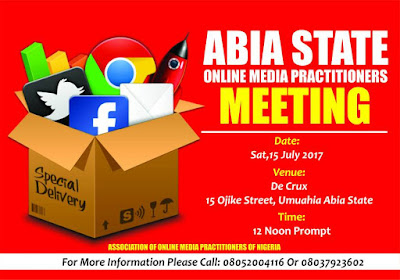Media Practitioners of Nigeria (AMPON) Abia State chapter
