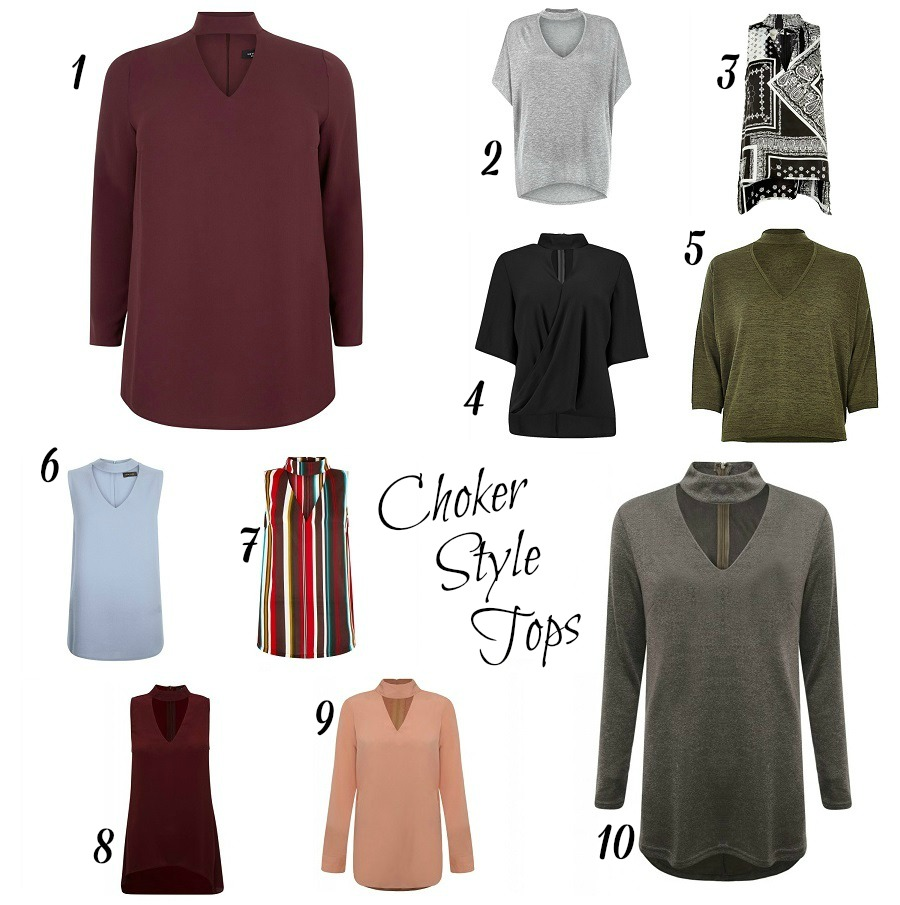 ON TREND, Choker style tops, The Style Guide Blog