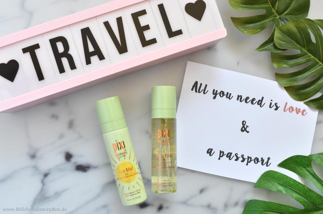 Reise Essentials & Must Haves - PIXI Glow Mist und Sun Mist