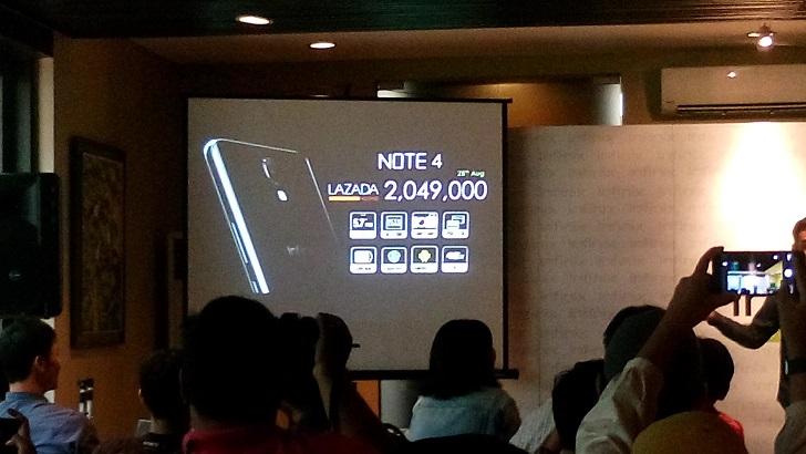 Harga Infinix Note 4 hanya 2 juta Caranya Belanja Online di Lazada