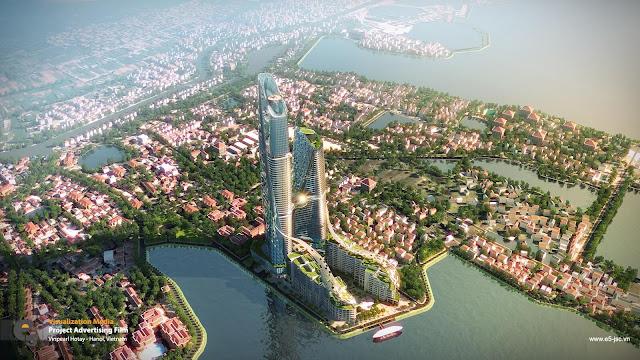 Phối cảnh dự án Sun Grand City Quảng An