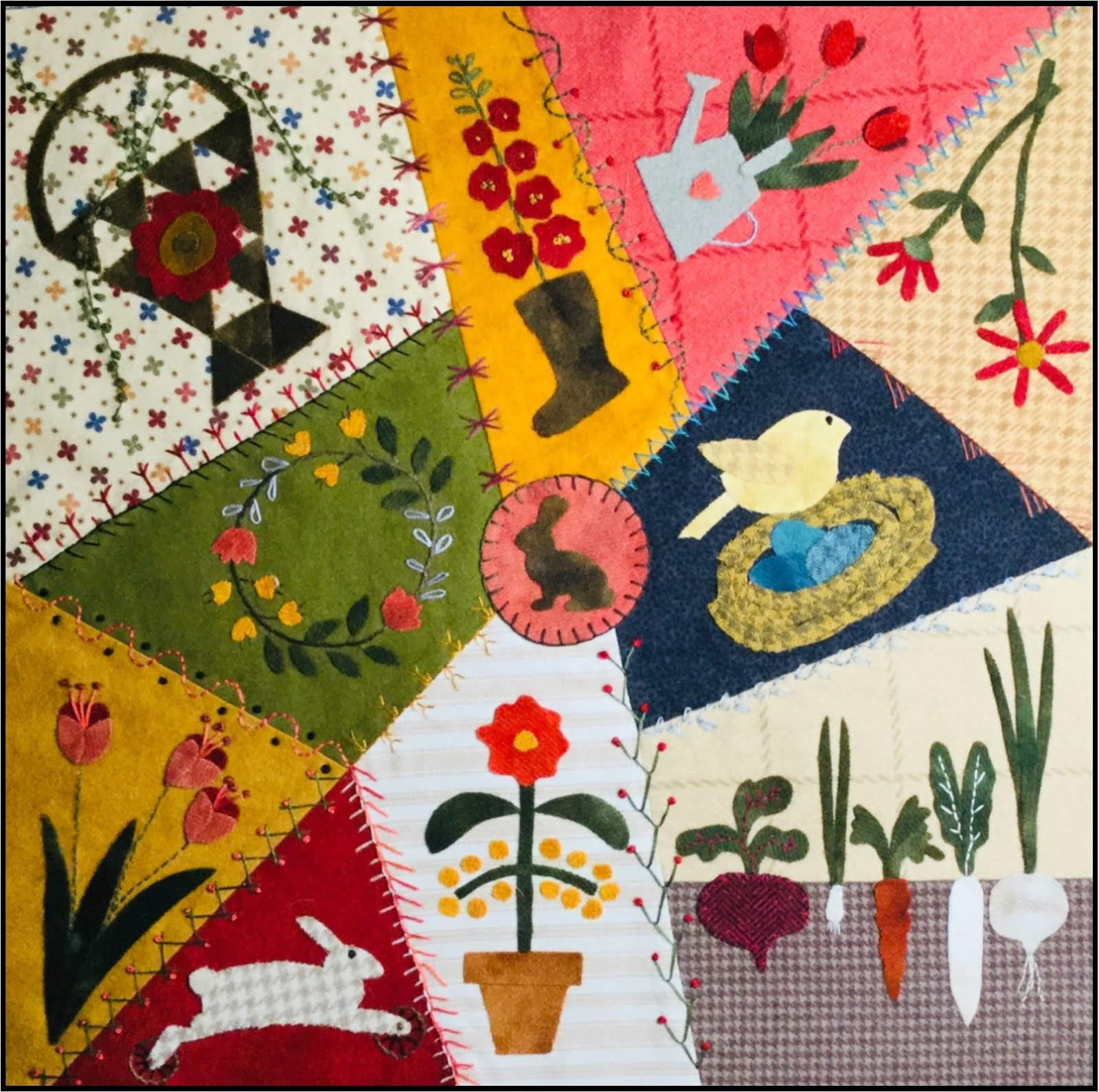 Crazy Seasons Mystery Quilt