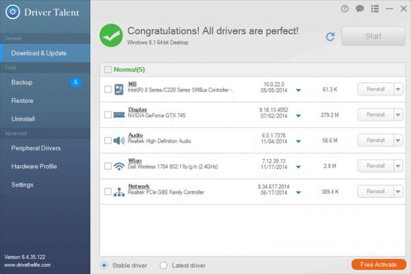 Driver Talent Pro Full 1