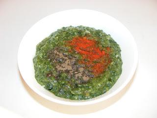 Retete culinare mancare de post scazuta cu urzici leurda si usturoi,