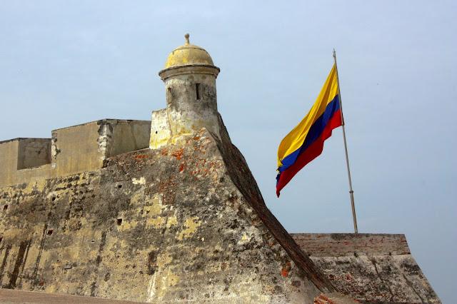 Castelo São Pedro de Barajas, em Cartagena das Índias