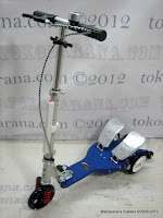 Dual Pedal Scooter Elite Super Scooter QY11AP Pole Lite L (Large)