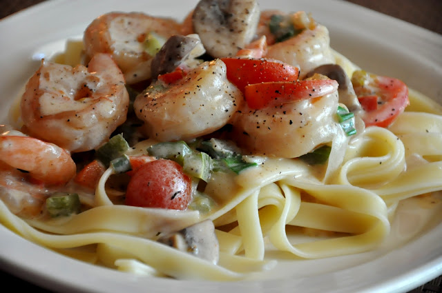 What S Cooking At Richard S Creamy Cajun Shrimp Pasta