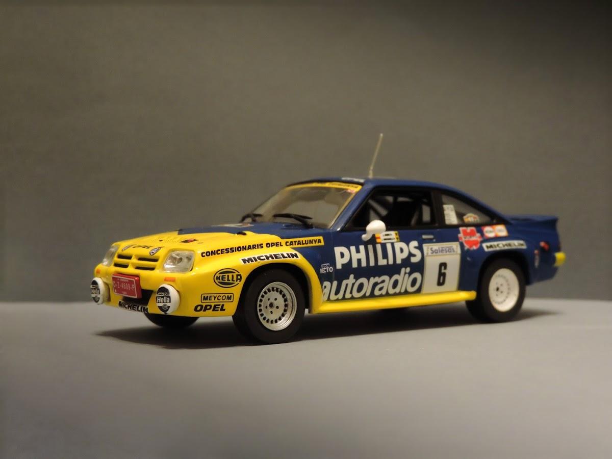 IXO/Altaya Opel Manta B 400, Rajd Villa de Llanes 1986
