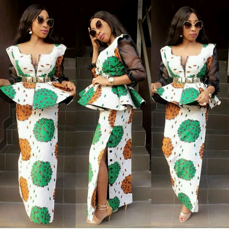 Beautiful And Classic Peplum Gown Styles Latest Ankara Styles 2019